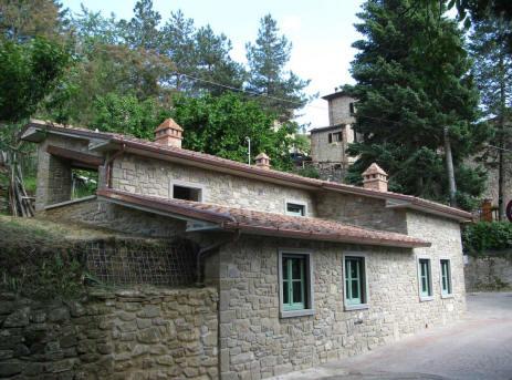 il fienile - Soggiorno Cucina Con Camino 2